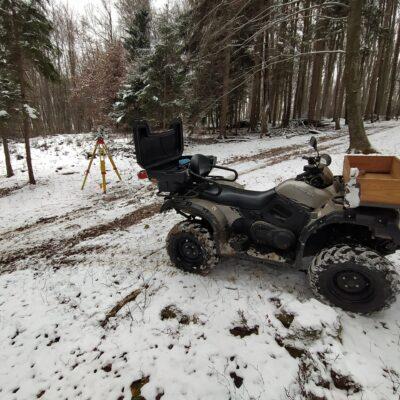 Urejanje mej v snegu